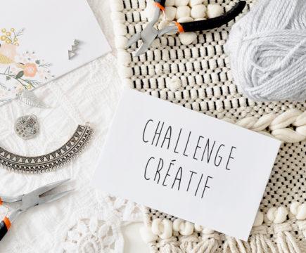 """Challenge créatif """"Vie de bohème"""""""