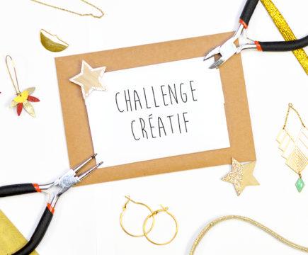 """Challenge créatif """"2020, du doré entre les mains"""""""