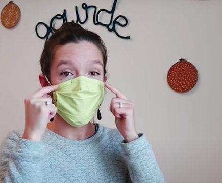 Créer un masque de protection fait-main
