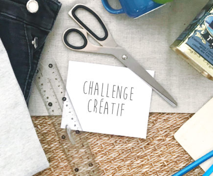 """Challenge créatif """"La Récup' ça m'occupe"""""""