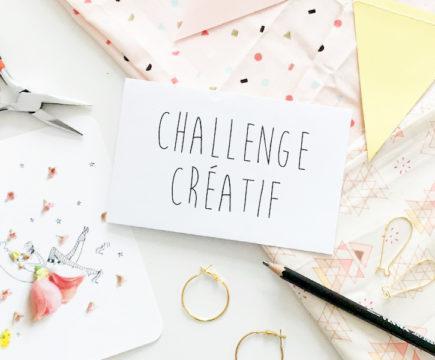 "Challenge créatif ""La vie en rose"" juillet 2020"